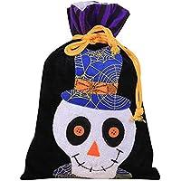 ハロウィン不織布トートバッグブラック??1個 おもちゃ雑貨用品 お祭り 宴会 文化祭 汕頭