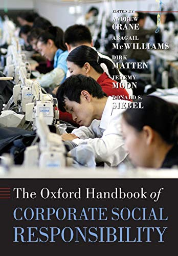 Download The Oxford Handbook Of Corporate Social Responsibility (Oxford Handbooks) 0199573948