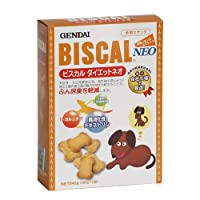 (まとめ買い)現代製薬 ビスカル ダイエットネオ ふん尿臭を軽減するダイエットサポートビスケット 犬用 840g 【×3】