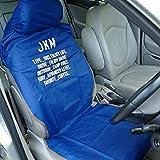 JKM 防水シートカバー シートカバー 防水タイプ フロント 1枚 ネイビー 軽自動車 普通車 ミニバン SUV エプロンタイプ