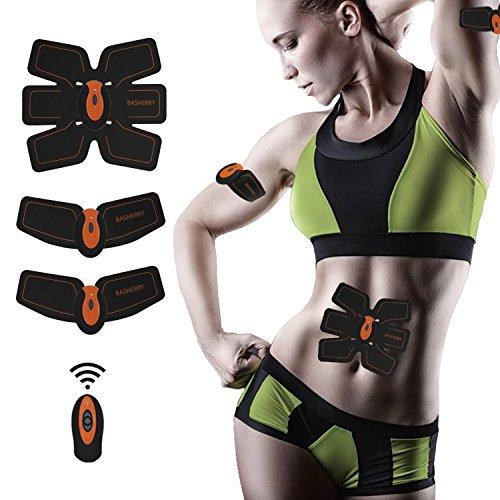 EMS 腹筋 USB充電式 アブズフィット EMS筋トレ 自動的に腹筋トレーニング 筋肉刺激 ダイエット マッサージ スポーツ 健康機械 男女兼用 … (EMS本体)