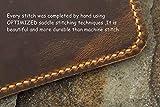 カスタマイズ ビンテージ エグゼクティブサイズ ロケットボックエバーラスト記事本レザーカバーケース オイルタンニンなめし牛革 本革ノートポートフォリオ 半永久的に使えるスマートノート収納フォルダー Rocketbook everlast executive size適用 NE05RBC 画像