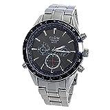 エルジン ELGIN 電波 ソーラー クロノ 腕時計 FK1412S-BP ブラック【メンズ】【国内正規品】 [並行輸入品]