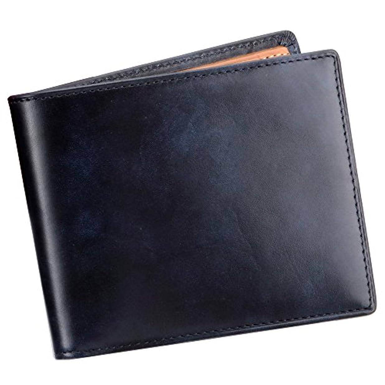 応援する可決符号SNOBBIST(スノビスト) ミュージアムカーフ二つ折り財布/ウォレット