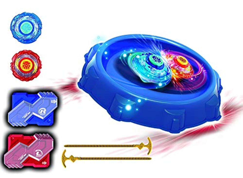 Infinity NADO バトルスタントエリア メタルNADOスピニングおもちゃ2個付き スーパーウィスカーとブレード(リニュー)