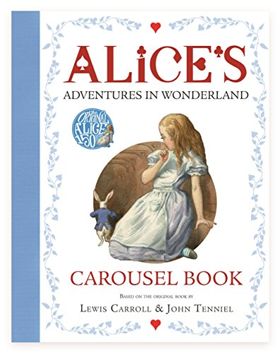 Alice's Adventures in Wonderland Carousel Book