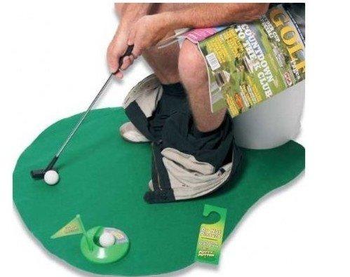 ナイスショット!『トイレでゴルフ』 マット 快適空間 ストレ...