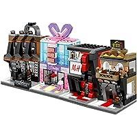 Damian クラシック アイデアパーツ 店 ショッピングモール積み木 亲子ゲーム レゴ式積み木 ブロック(474pcs)
