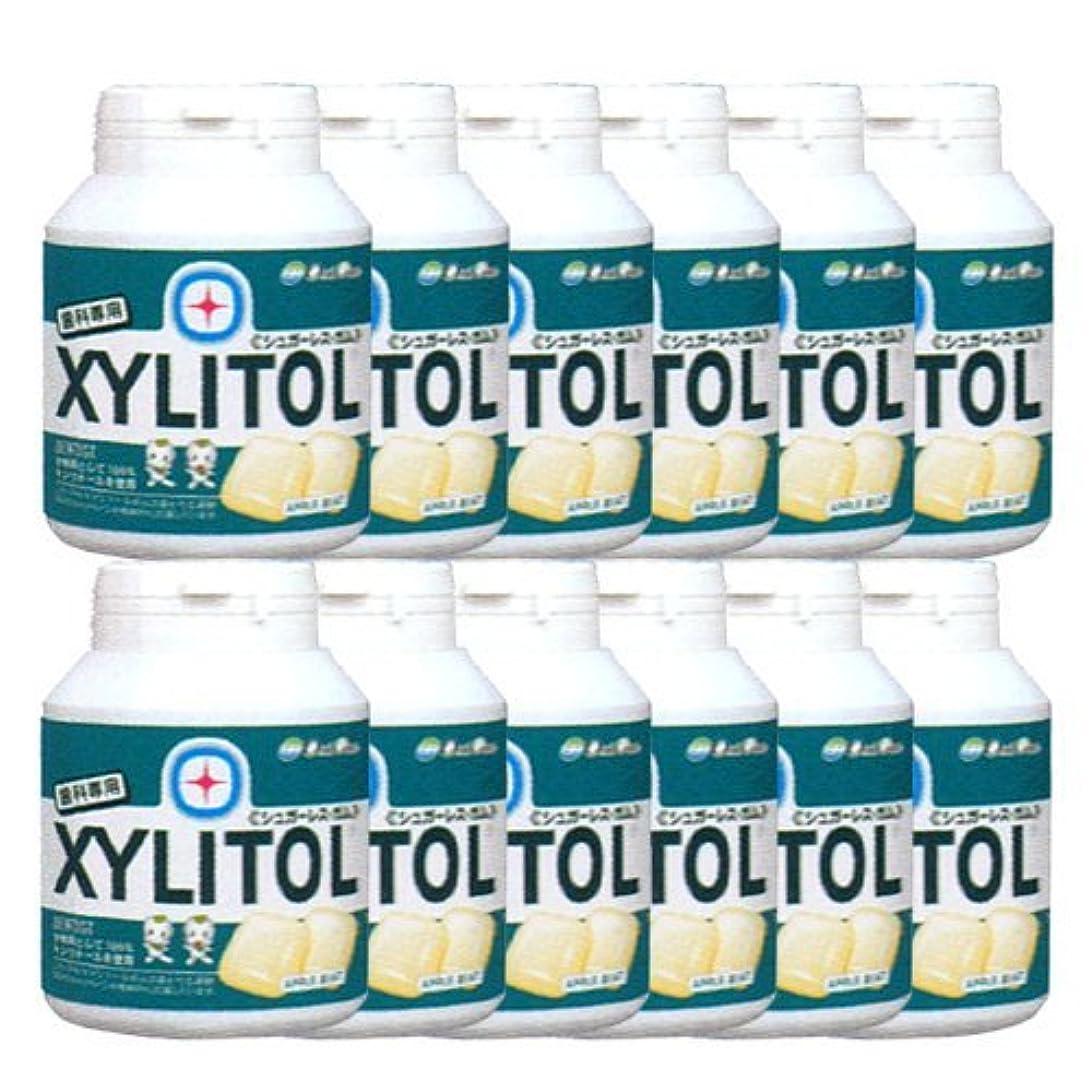 被害者融合物理学者歯科専売品 キシリトール ガム ボトル タイプ 90粒×12本 アップルミント
