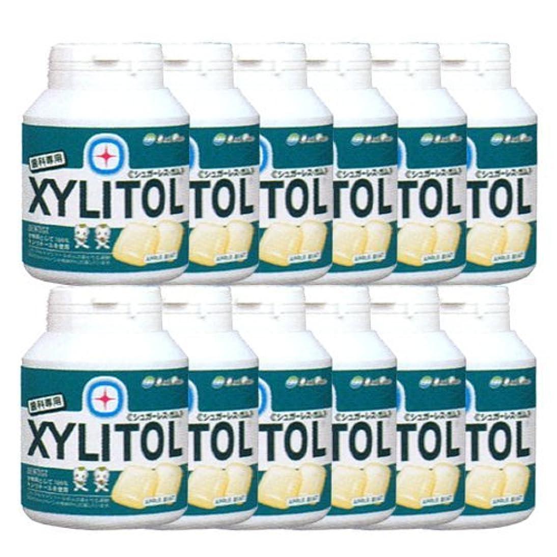 変換するシャベル著作権歯科専売品 キシリトール ガム ボトル タイプ 90粒×12本 アップルミント