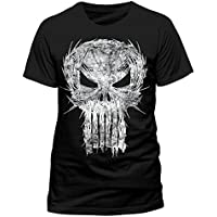 Punisher Skull Frank Castle Marvel Official Tee T-Shirt Medium