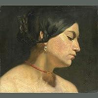 手書き-キャンバスの油絵 - 美術大学の先生直筆 - Maria Magdalena ロマンチック Sir Lawrence Alma Tadema 絵画 洋画 複製画 ウォールアートデコレーション -サイズ08