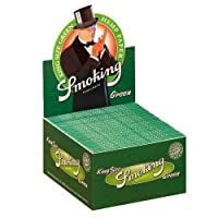 Smoking 110mm king Size Green 20% OFF