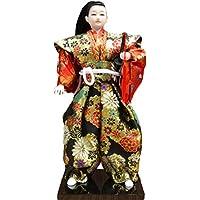 和風の伝統的な戦士忍者人形/ギフト/ジュエリー-A4