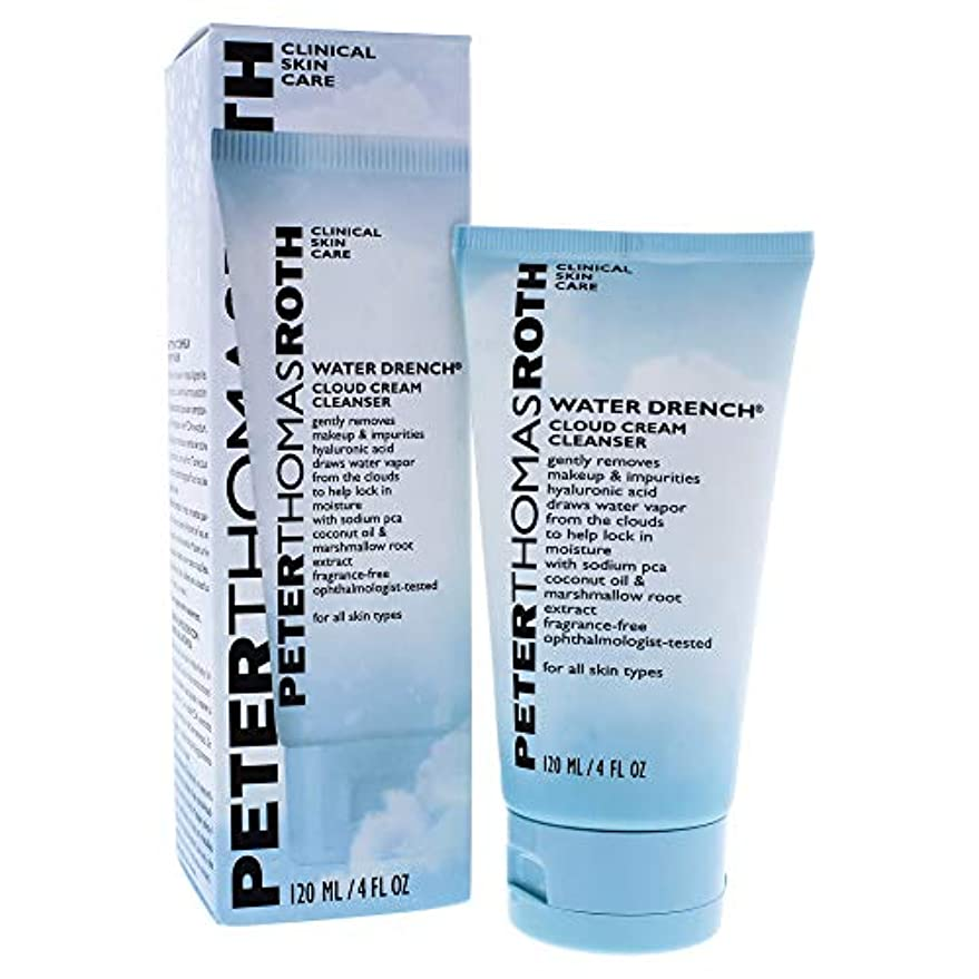 吸収する目に見えるスクランブルPETER THOMAS ROTH - Water Drench Hyaluronic Cloud Cream Cleanser