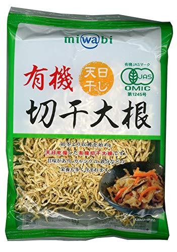 miwabi 有機切干大根 袋60g