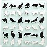 SHIRONEKO・KURONEKO REVERSI ネコのリバーシ 白猫 黒猫 ゲーム インテリア