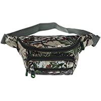 Prettyia Waterproof Waist Bag Pack Running Carry Pouch Casual Backpack Camoflage