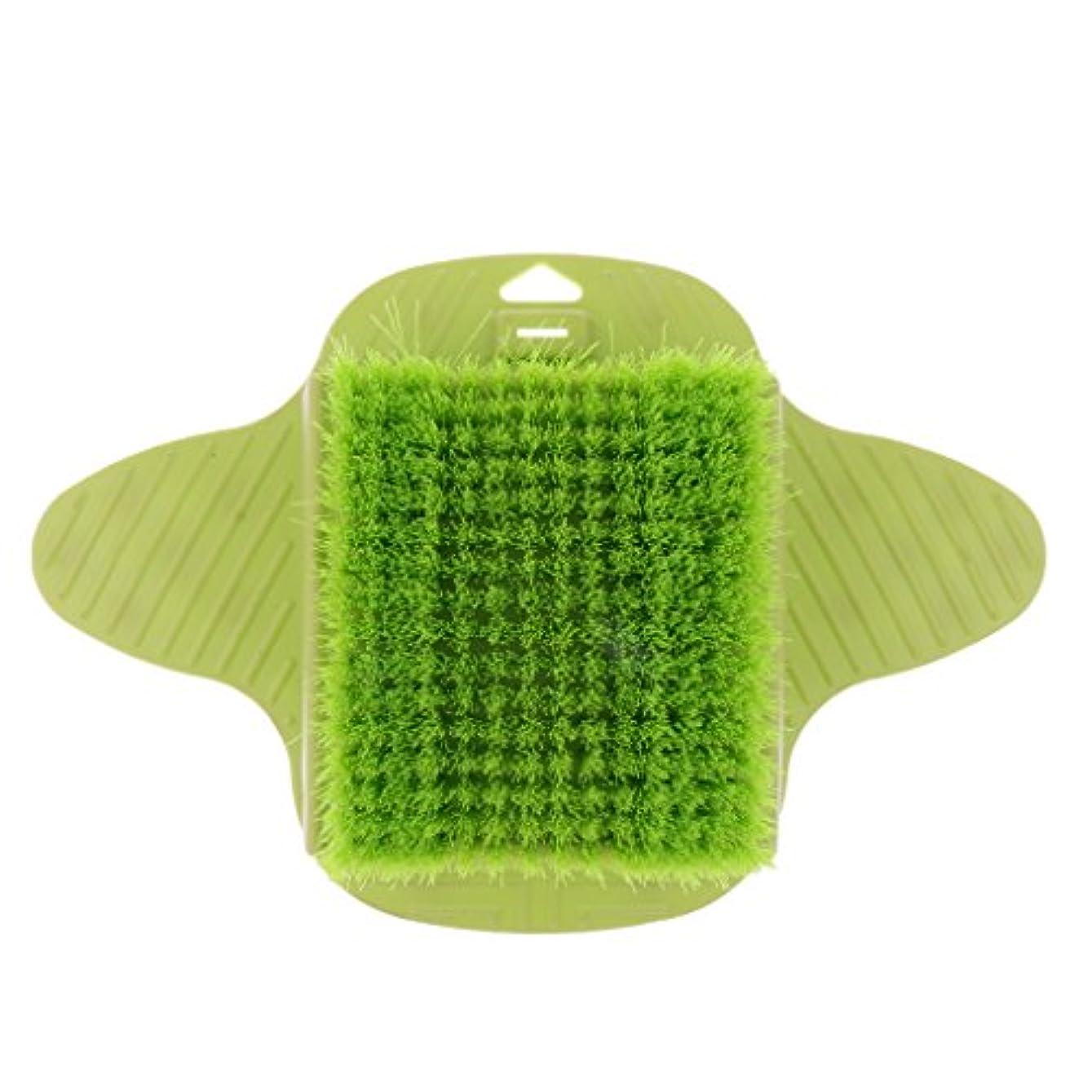 助けになる直接困難Baosity 足ケア マッサージブラシ ブラシ 足底清潔 足用 シャワー ストレス解消 快適 フット ツール 緑