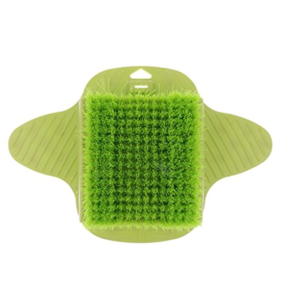 石灰岩類推再開Baosity 足ケア マッサージブラシ ブラシ 足底清潔 足用 シャワー ストレス解消 快適 フット ツール 緑