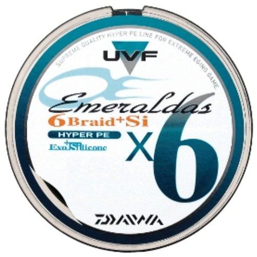 ダイワ(Daiwa) PEライン UVF エメラルダス 6ブレイド+Si 100m 0.6号 ファイングリーン