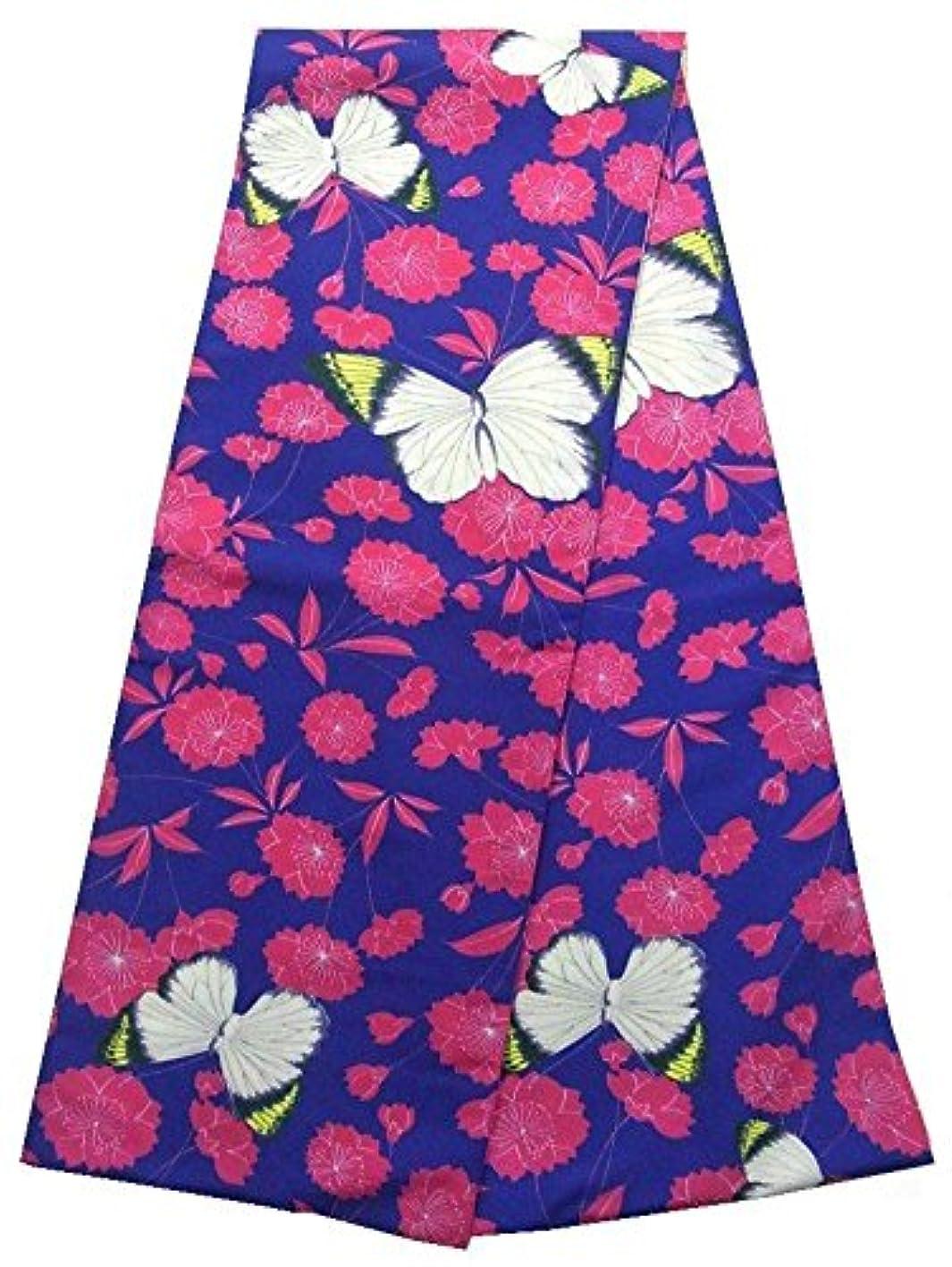 付属品物理学者限りなくキモノッテ 京袋帯 桜と蝶  ビビット ポリエステル