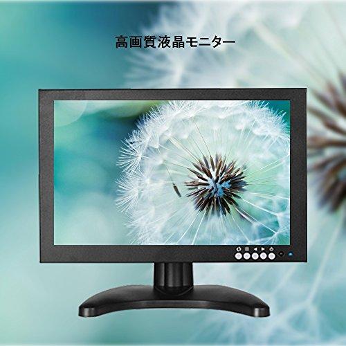 『10インチ液晶 HDMI USB モニター PC 小型 サブ ディスプレイ1280*800 IPS全視野高画質 HDMI USB VGA BNC AV 入力対応 モバイル モニター (101IPS)』の2枚目の画像