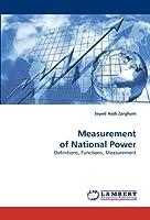 Measurement of National Power: Definitions, Functions, Measurement
