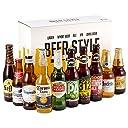 【WEB限定】輸入ビールスタイル別飲み比べ10本パック アメリカ 335ml×10本 ギフトBox入り