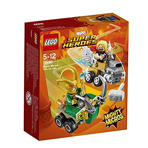 レゴ(LEGO) スーパー・ヒーローズ マイティマイクロ:ソー vs. ロキ 76091