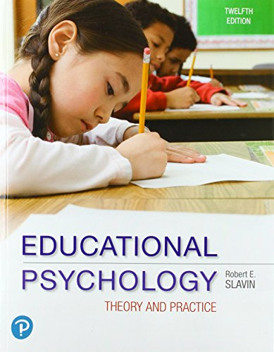Download Educational Psychology: Theory and Practice (12th Edition) 013489510X