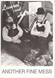 #301)ポストカード-輸入版 [ローレルとハーディ ]LAUREL AND HARDY 当時販売物