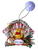 【ディズニー/くまのプーさん】ミニしめ飾り10.0cm プーとハニーポット/正月飾り キャラクターグッズ