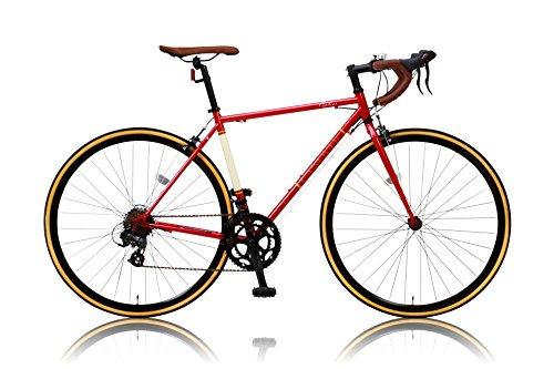 CANOVER(カノーバー)  クラシック ロードバイク 700C シマノ14段変速 CAR-013 (ORPHEUS) クロモリフレーム フロントLEDライト付 [メーカー保証1年]