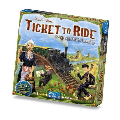 チケット・トゥ・ライドオランダ拡張セット (Ticket To Ride: Nederland) ボードゲーム