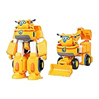 おもちゃ Super Wings 変形 ロボット Donnie Dizzy Jett Paul Jerome Astra (Donnie)