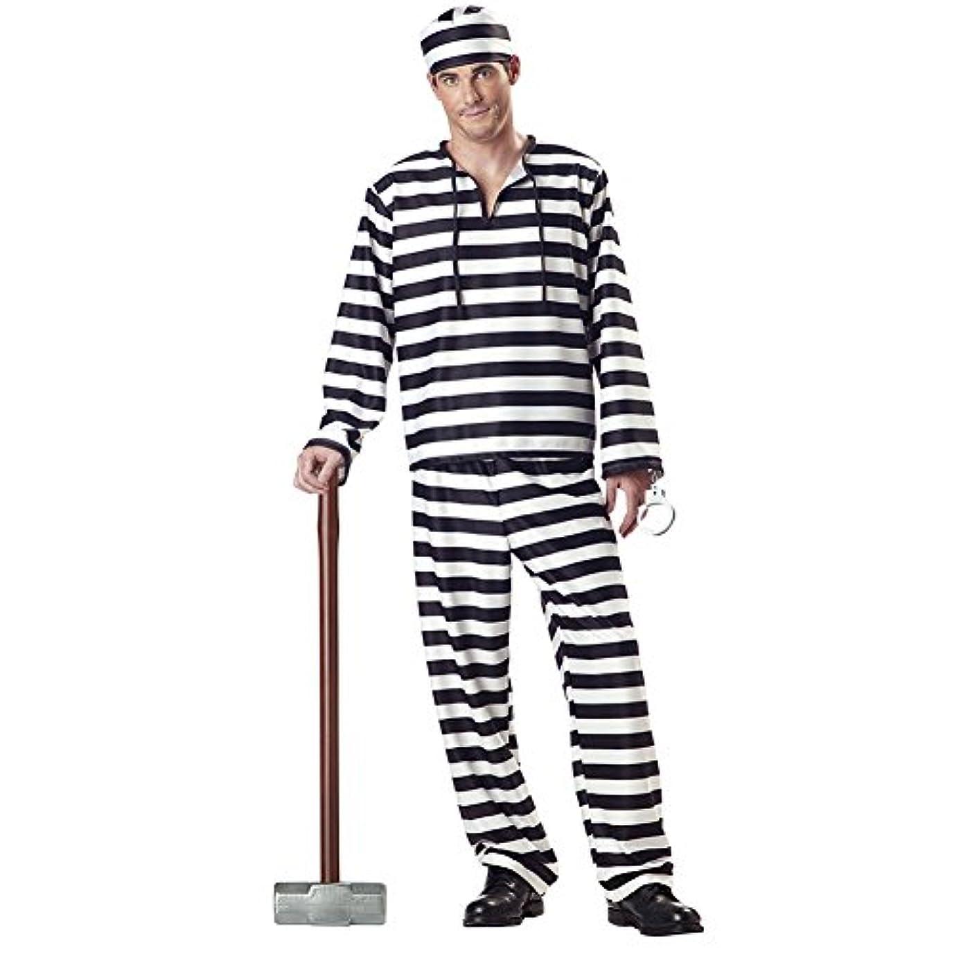 に頼るリップみがきますCalifornia Costume 囚人 プリズナー コスチューム メンズ Lサイズ 00801