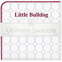 SwaddleDesigns Ultimate Swaddle Blanket, Made in USA, Mississippi State University, Little Bulldog [並行輸入品]