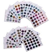 SONONIA  18枚 人形  目  チップ  パターン  UV接着剤なし  12インチブライスドール用