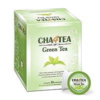 cha4tea 36-count Green Tea K Cups for Keurig k-cup