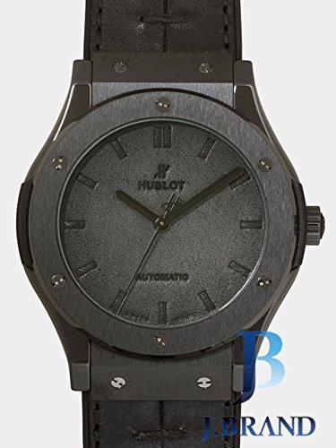 [ウブロ]HUBLOT 腕時計 クラシック・フュージョン ベルルッティ オールブラック 世界限定500本 ブラック 511.CM.0500.VR.BER16 メンズ [並行輸入品]