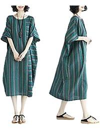 f5478b1f54dd8 Amazon.co.jp  ロング丈 - ワンピース・チュニック   ワンピース・ドレス ...