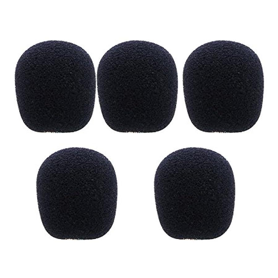 これらストレス一般的にSimpleLife 5 Packフォームマイクロホンヘッドセットマイクロホンウインドスクリーン