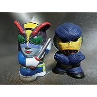 仮面ライダー 怪人:指人形コレクション 2体/怪異蜂女&恐怖コブラ男
