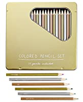 Whimsical Shop 24-pc。Colored Pencil Set ,マルチ