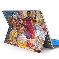 igsticker Surface pro 2017/pro 4 専用スキンシール サーフェス pro 2017 pro4 プロ ノートブック ノートパソコン カバー ケース フィルム ステッカー アクセサリー 保護 016389