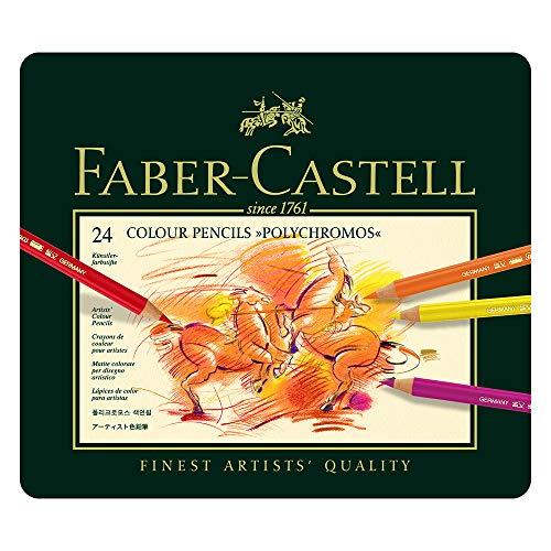 ファーバーカステル ポリクロモス色鉛筆 24色セット