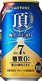 【糖質ゼロ、アルコール7%】サントリー 頂 <いただき> 極上ZERO 350ml×24本
