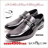 ノーブランド品 Nobleman Bit Shoes ドレスシューズ 27.0-27.5 ホワイト