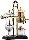 豪華ベルギーコーヒーメーカー サイフォンコーヒーメーカー横式(ゴールド)